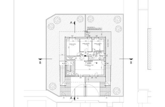 RESIDENZA IN VILLA – Appartamento in bifamiliare con giardino (APP.1)