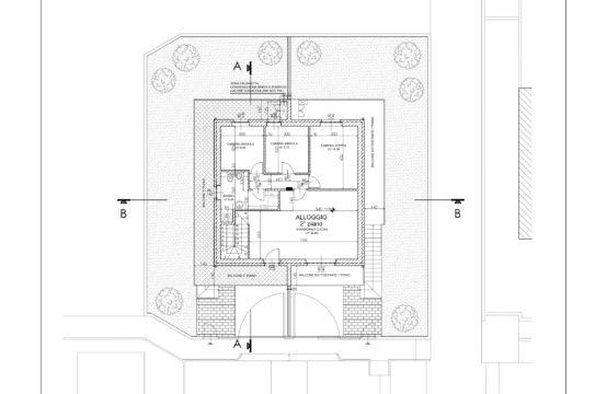 RESIDENZA IN VILLA – Appartamento in bifamiliare con giardino (APP.2)